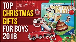Top Gifts For Boys Christmas 2018