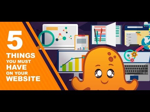 Website Musts: Do You Have These 5 Things? (2018)