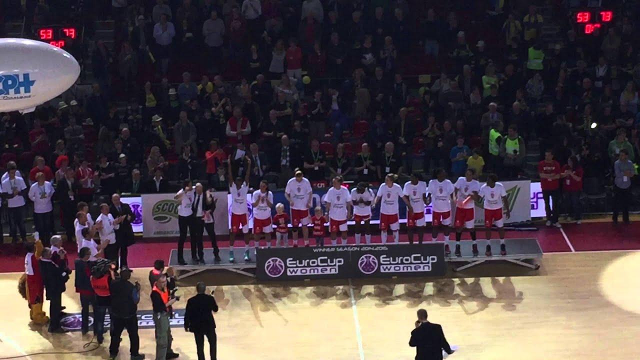 Finale de la coupe d 39 europe de basket f minin youtube - Coupe d europe de basket feminin ...