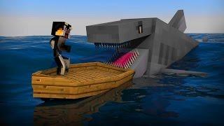 Как сделать удочку и пойти на рыбалку в Minecraft - игровой мультик для детей #6