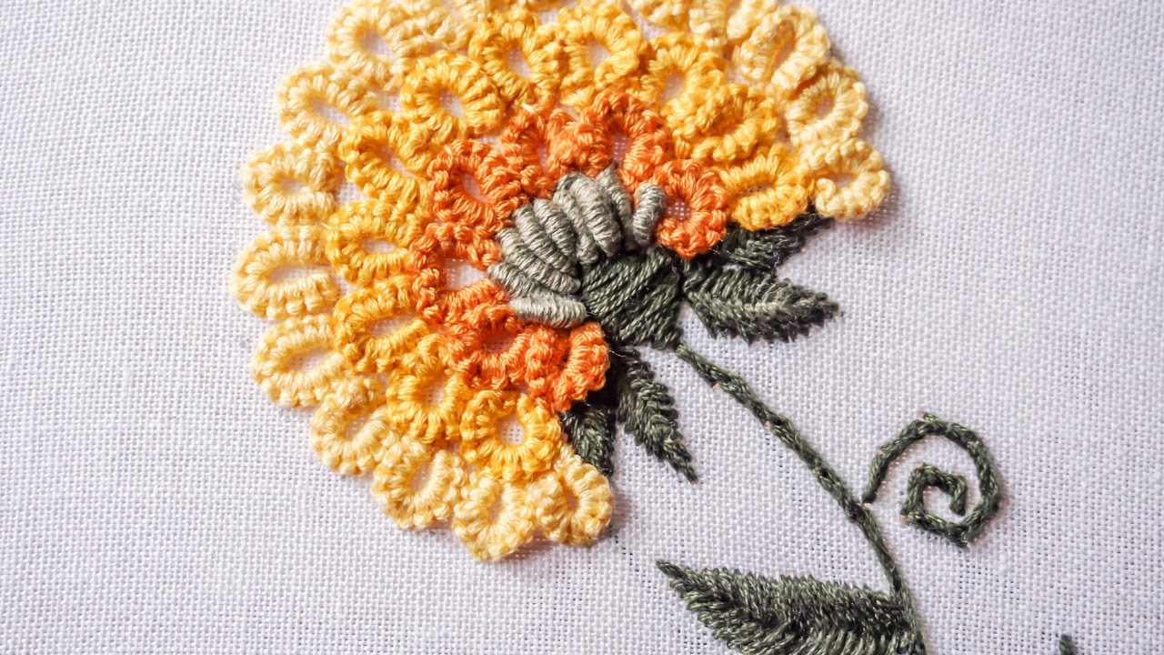 Hand Embroidery  Stitching Tutorial by Hand  HandiWorks