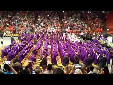 burges high school graduation flash mob