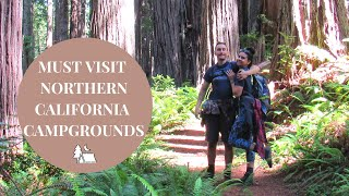 BEST Northern California Campgŗounds (MUST VISIT!)