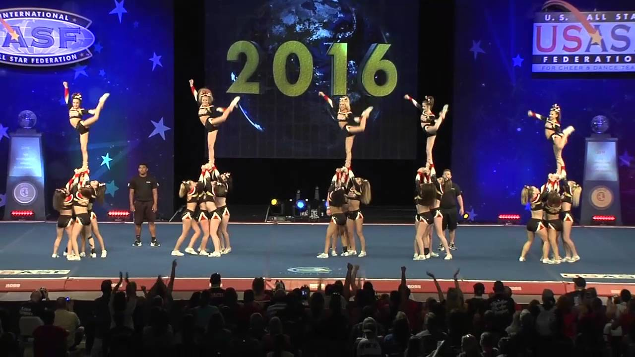 full house all stars lady sharks 2016 senior medium all girl prelims - Medium House 2016