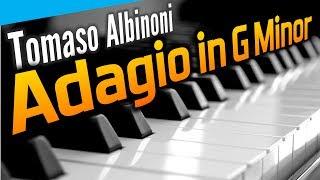 Adagio in G Minor. Очень красивая мелодия на фортепиано.
