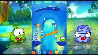Funny Cartoon Game Om Nom 2 ( cut the rope 2 ) Super Noms   Ам Ням 2 Супер Нямы Веселий Мультик Гра