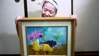 モモMサトウ 30年前の油絵 Oil painting momoMsato 30 years ago