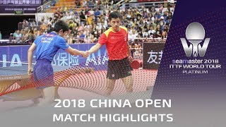 2018 China Open I Zhang Jike v Tomokazu Harimoto (R32) in 4k
