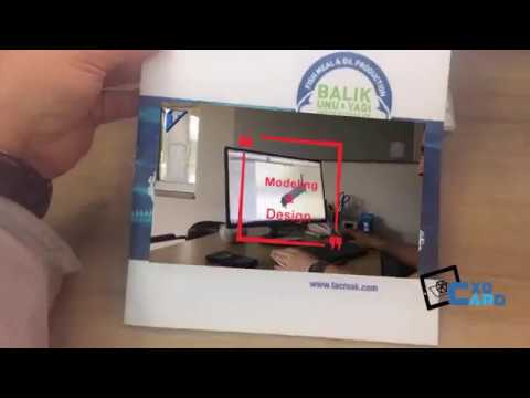 cxocARd Augmented Reality for Catalog - Case Taçmak ( taç makina )