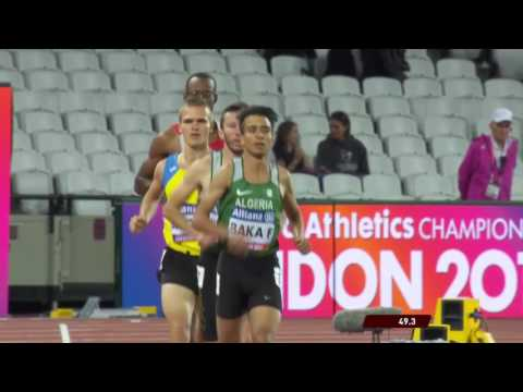 Men's 800m T13 | Round 1 Heat 2 | London 2017 World Para Athletics Championships