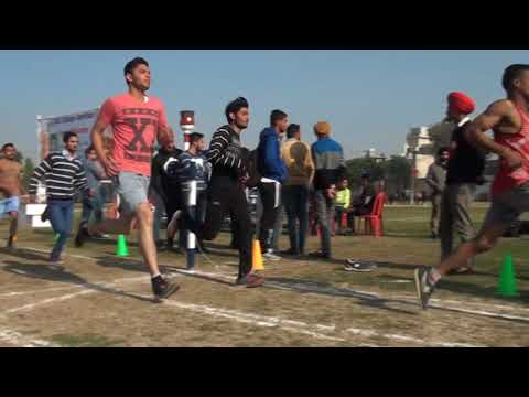 OH SHAA GAYE ! 800 METERS - D A V COLLEGE AMRITSAR --ANNUAL SPORTS MEET