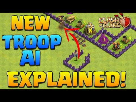 New Troop AI System EXPLAINED | Clash of Clans - Why Supercell are Reverting back to the Old System!