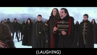 Twilight Saga Breaking Dawn Part 2 Aro Laughing