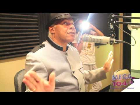 Larry Dodson from the Bar-Kays interview /Manic Hispanic. Mega 104.3