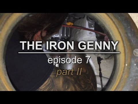 Sailing Vessel Triteia - The Iron Genny - Part II - Episode 7 - Stopping a Leaking Propshaft