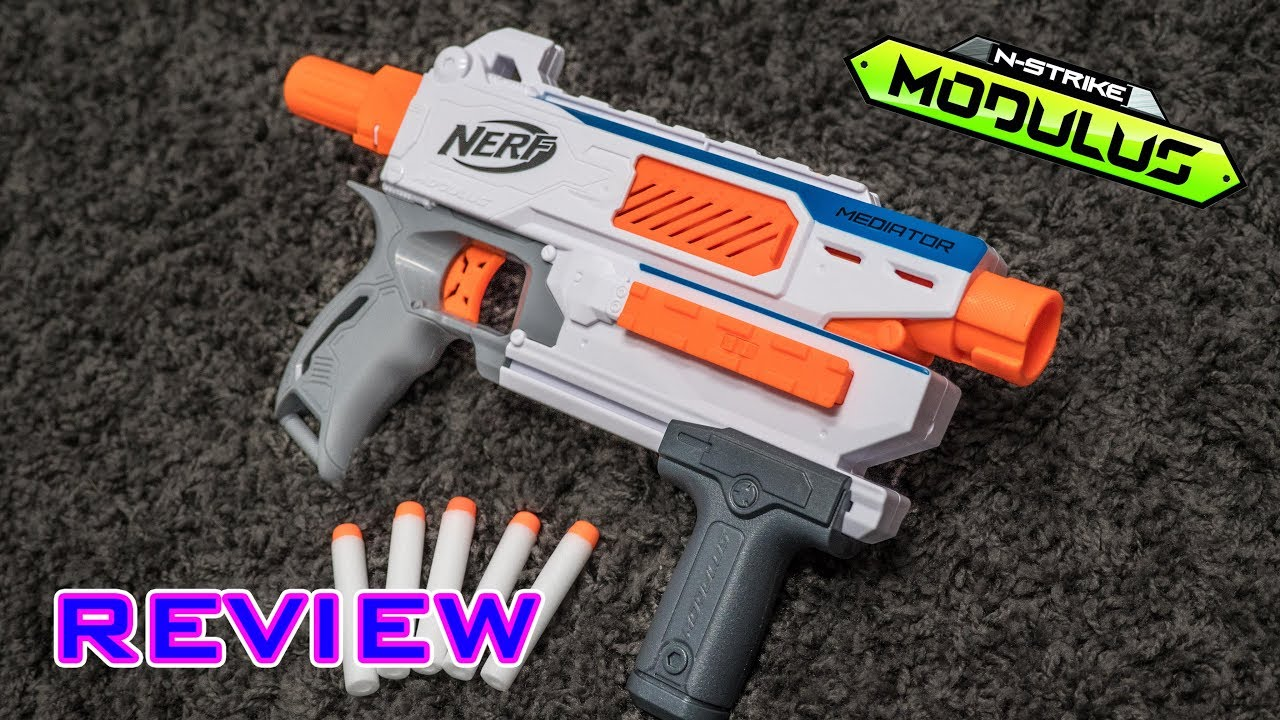 [REVIEW] Nerf Modulus Mediator | Unboxing, Review, & Firing Demo