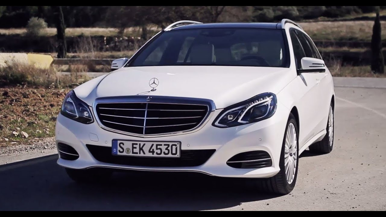 Mercedes e300 bluetec hybrid estate review youtube for Mercedes benz e300 hybrid