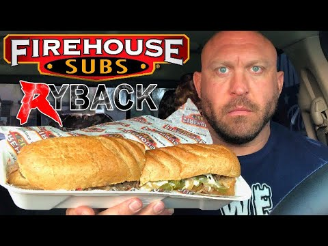 Firehouse Subs Sandwich Food Review - The Big Guy VS Food - Ryback TV