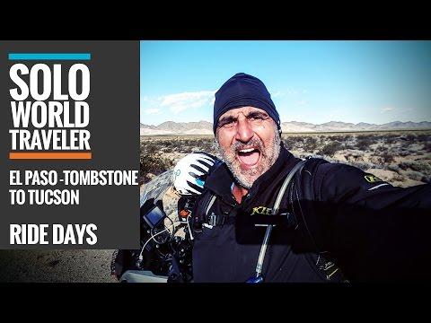 Ride Day 7: El Paso, Texas to Tombstone to Tucson, Arizona