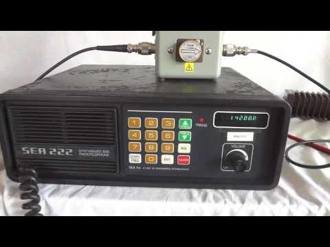 SEA222 HF SSB Marine Radio