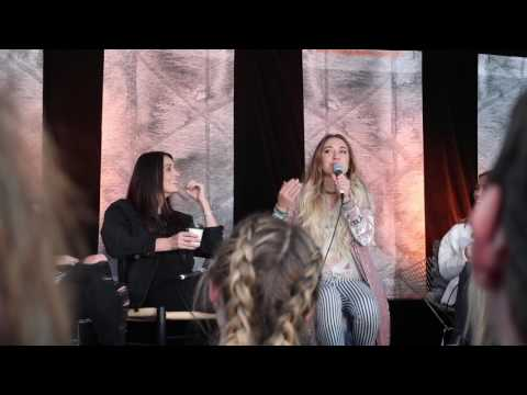 COFFEE WITH LAUREN DAIGLE - Hilsong Conference 2017