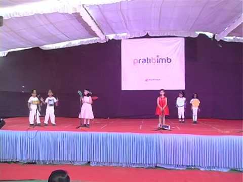 3D shapes skit and dance 1B madhapur