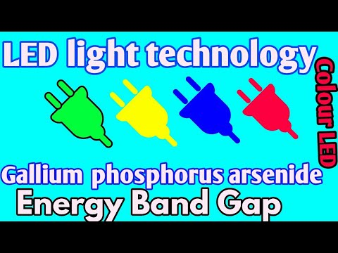railway life alp | LED Light Technology Explained | semicond material | energy band gap | LED colour