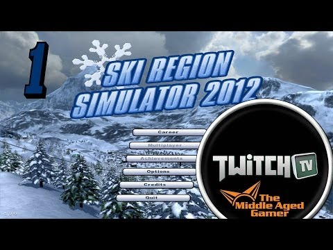 Ski Region Simulator - First Look - The Middle Aged Gamer - Part 1