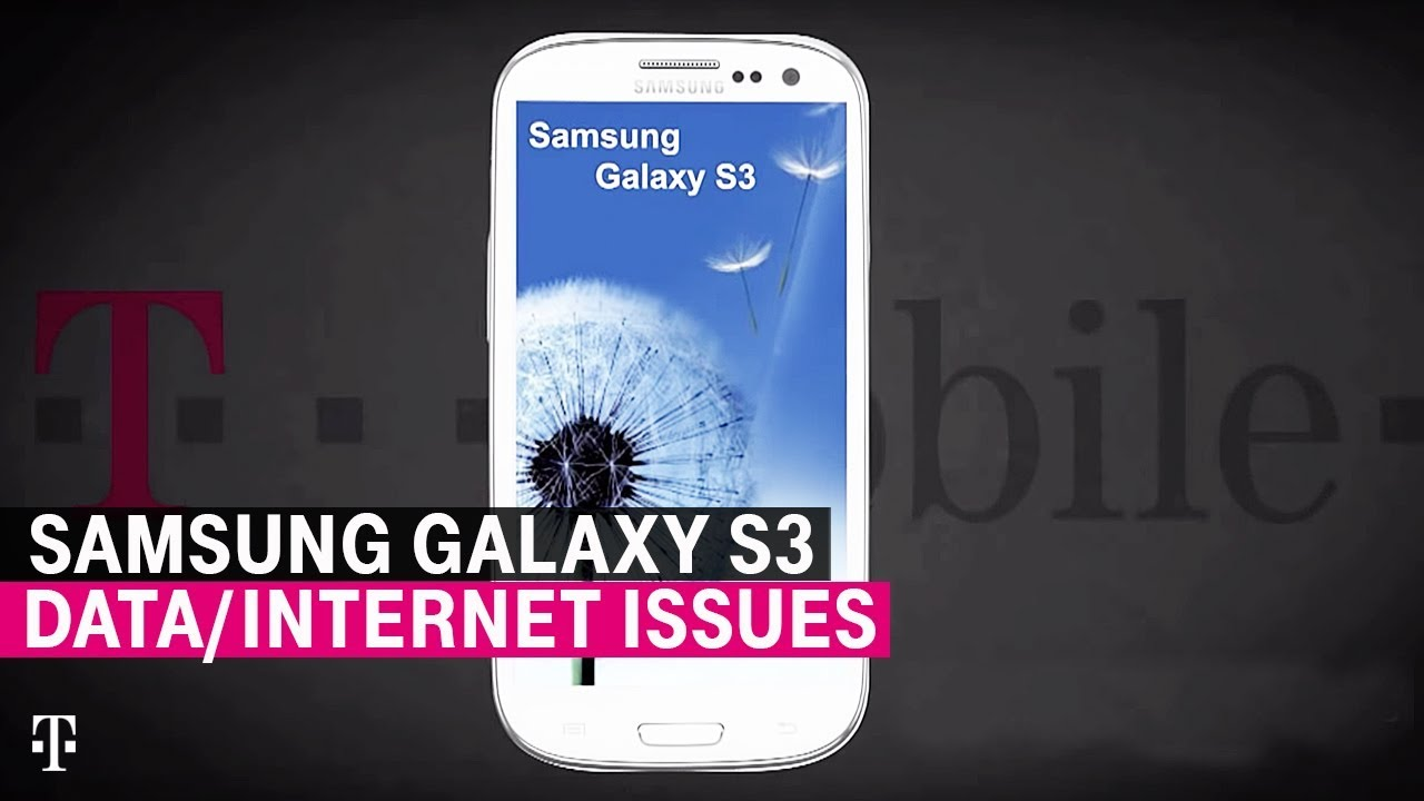 How to Fix Inability to Access Data/Internet -- Samsung Galaxy S3