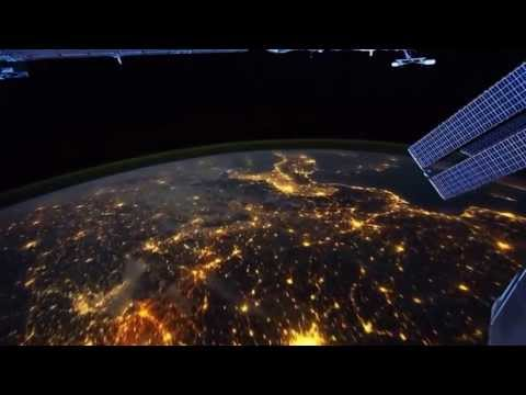 Wonderful view of World From Satellite