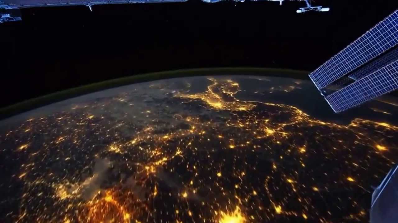 Wonderful View Of World From Satellite YouTube - The world satellite image