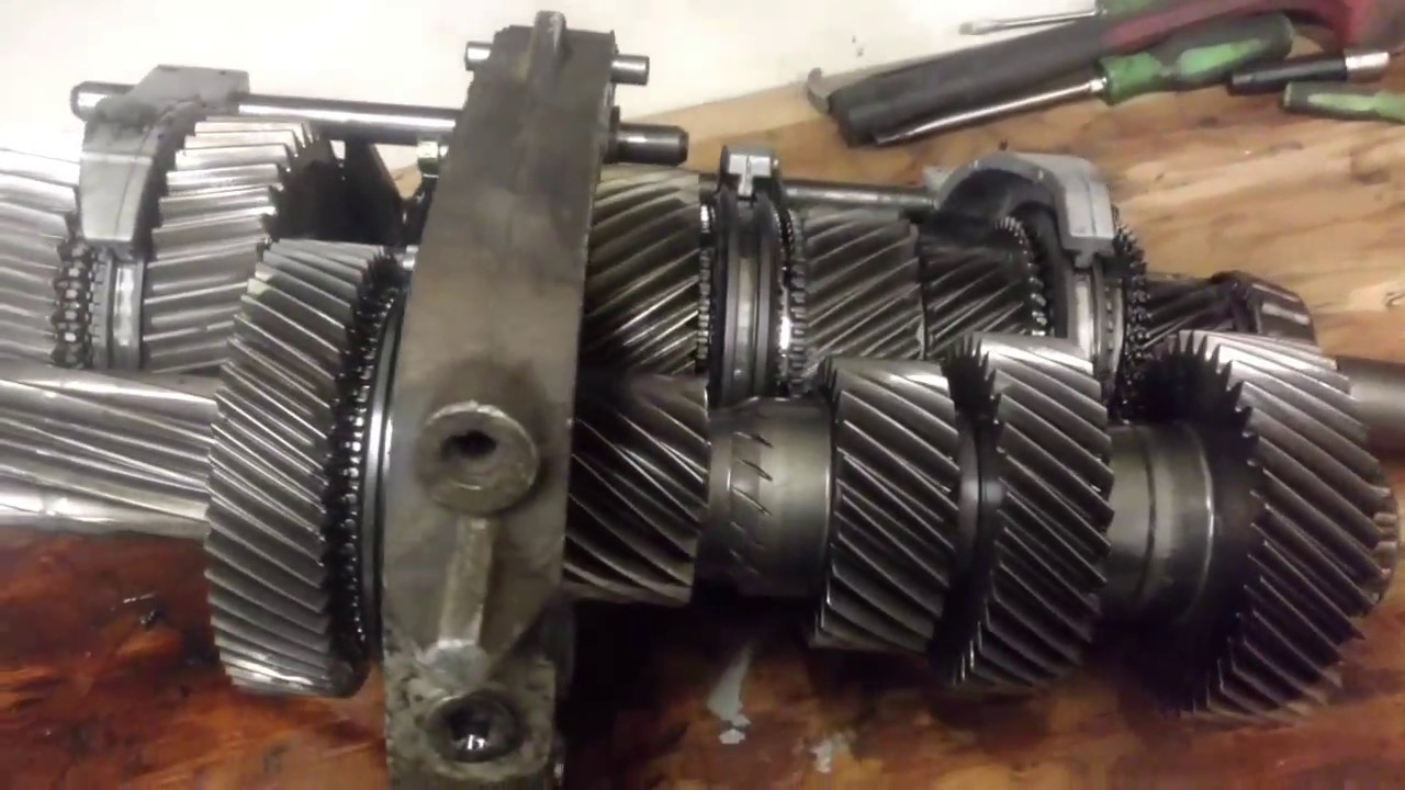 Ford zf6 speed rebuild part 1  YouTube