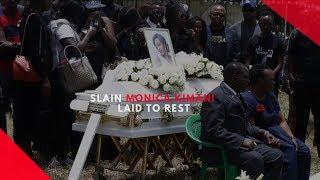 Slain Monica Nyawira laid to rest  at Kairi Village in Nakuru County
