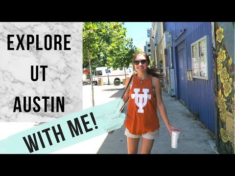 UT AUSTIN | Explore With Me Vlog