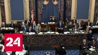 Смотреть видео В Сенате США обострилось противостояние в ходе процедуры импичмента - Россия 24 онлайн