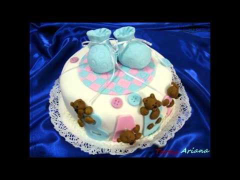 idea para pastel de baby shower ni a doovi