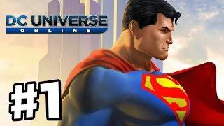 DC Universe Online Gameplay Walkthrough Part 1 - The Battle