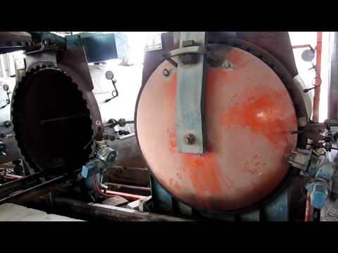 Mô tả quy trình sản xuất Gạch bê tông nhẹ EBLOCK - Công đoạn hấp chưng áp