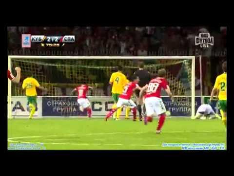 Кубань - Спартак-2 (2:3) 27 августа. ФНЛ 2017-18. Протокол