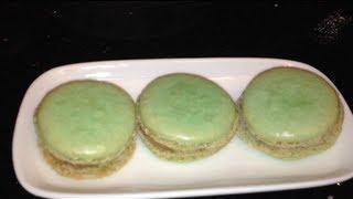 Mint Chocolate Macaroons -cdskitchen Recipe #11