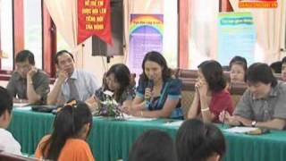 Hà Nội   Tổ chức Diễn đàn  Trẻ em với môi trường an toàn, lành mạnh và thân thiện
