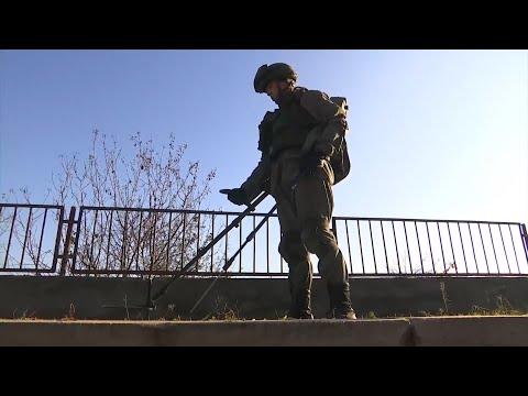 Российские саперы продолжают работу в Нагорном Карабахе