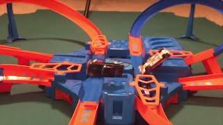 Epic Hot Wheels Car Crash Tournament (retro cars)