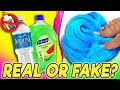 Water Slime! Testing No Glue Slime Channel Recipes | Real vs. Fake!