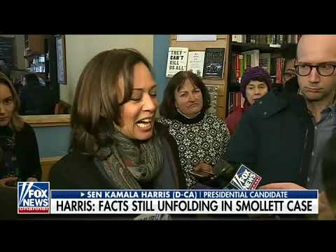Cleveland's Morning News with Wills And Snyder - Kamala Harris Freezes-Laughs Awkwardly When Asked About Smollett Incident