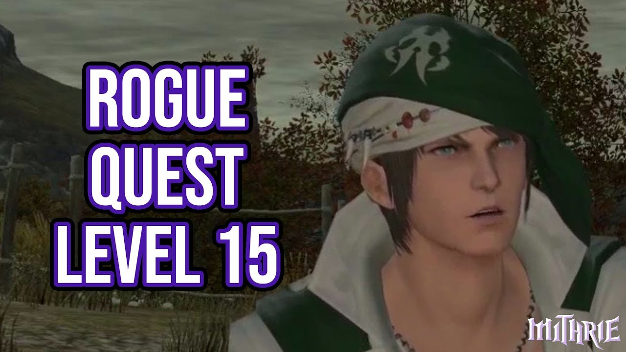 FFXIV 2 4 0438 Rogue Quest Level 15 - Mithrie :: Let's Play Index