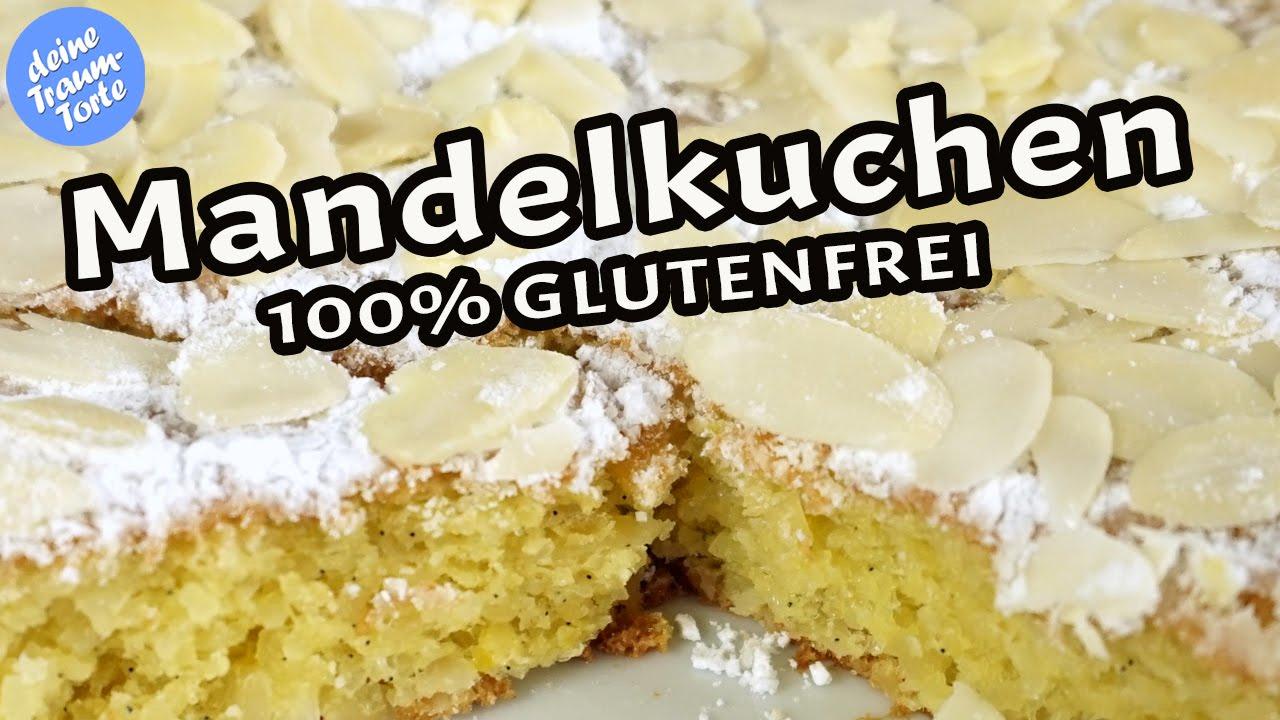 Glutenfreier Mandelkuchen Schnelle Leckere Rezepte Youtube