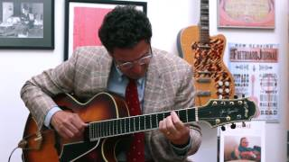 "John Pizzarelli - ""The Way You Look Tonight (Solo)"""