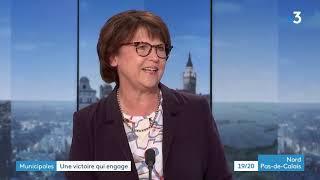 Municipales : Martine Aubry, Réélue à Lille, Invitée Du 19/20  1ère Partie