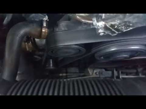 How to Replace the Serpentine Belt and Tensioner  Merc